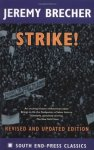 book jacket with photo of striking workers